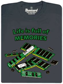 Life is full of memories - pánské tričko