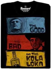 Limonádový Joe a jeho Kolaloka - černé pánské tričko
