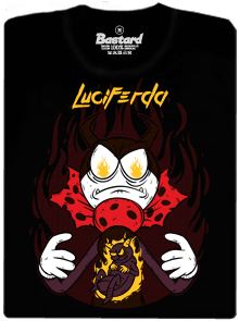 LuciFerda Mravenec - černé pánské tričko s potiskem