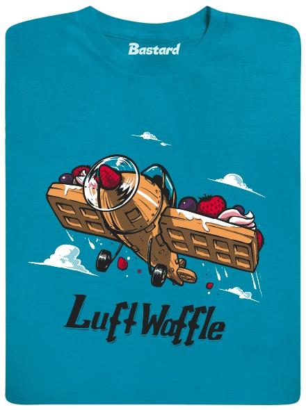 LuftWaffle - modré pánské tričko