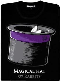 Tajemství kouzelného klobouku - králíci v klobouku