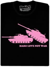 Make love, not war - pánské tričko s potiskem
