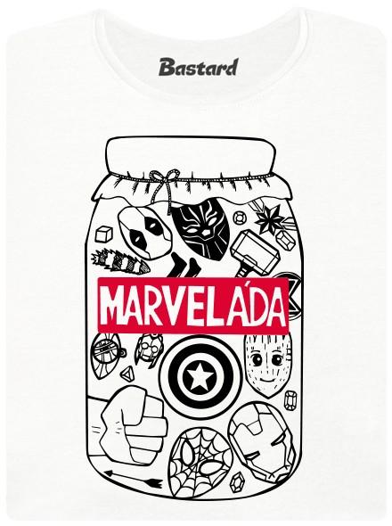 Marveláda - marmeláda ze superhrdinů od Marvela - bílé dámské tričko