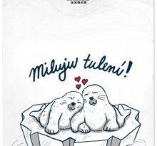 Miluju tulení! - bílé pánské tričko