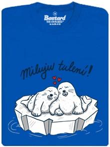 Tuleni se tulí - modré pánské tričko