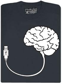 Mozek s připojením USB, který můžete rychle odpojit a připojit