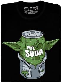 Mr. Soda - Mistr Yoda jako Mistr Soda