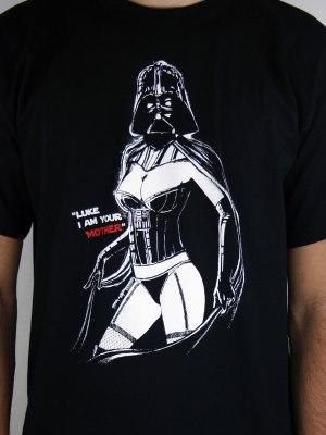 Mrs. Vader - Lukova matka - pánské tričko