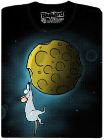 Můnčíz (Moon cheese) - měsíc ze sýra - sen každé myši