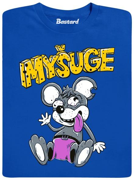 Myšuge - modré pánské tričko