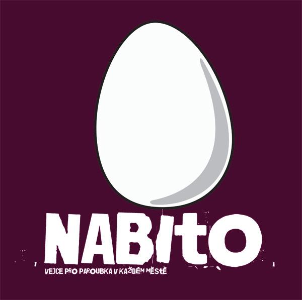 Tričko Nabito - vejce pro paroubka v každém městě