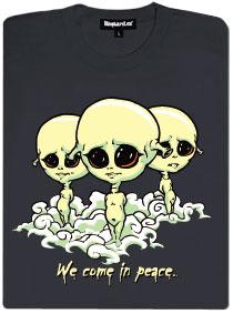 Mimozemšťani přicházejí v míru