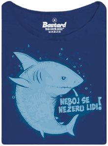 Mírumilovný žralok - dámské tričko s potiskem