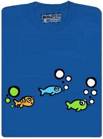 Rybička a její zelené bublinky