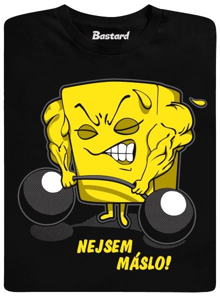 Nejsem máslo! - černé pánské tričko