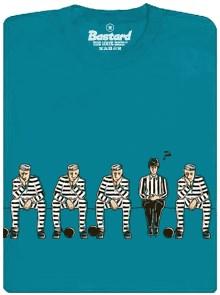 Nevinen - rozhodčí na trestné lavici na pánském tričku