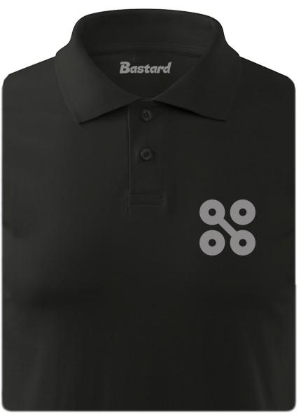 NYX 20 let - černá polokošile pánské tričko