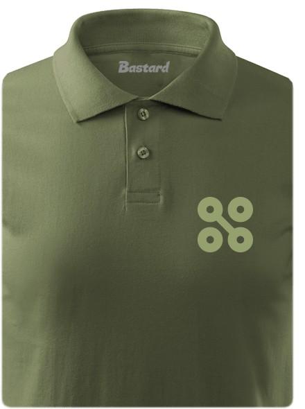 NYX 20 let - khaki polokošile pánské tričko