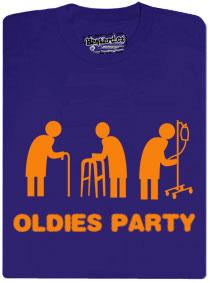 Tričko Oldies párty