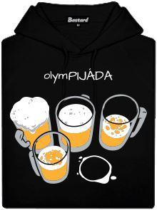 olymPIJÁDA - černá pánská mikina