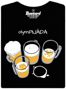 Olympijáda - černé dámské tričko