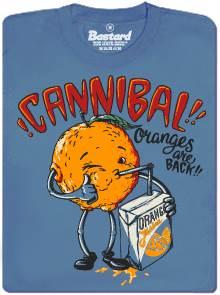 Kanibalský pomeranč pije svého vymačkaného druha - pánské tričko