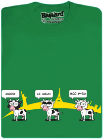 Krávy v Ostravě dělají i Bu pyčo