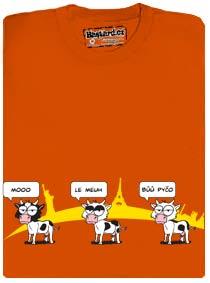 Krávy v Ostravě dělají Bůů pyčo