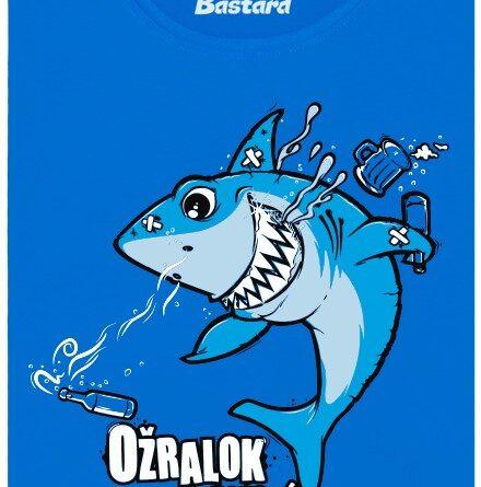 Ožralok Obrovský - modré dámské tričko