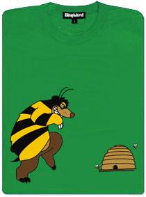 Pan Včelka jde na med do včelího úlu