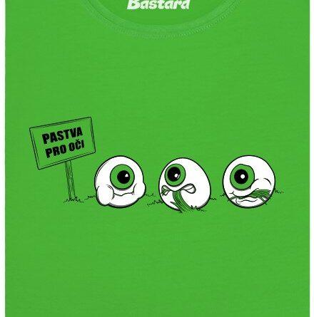 Pastva pro oči - zelené dámské tričko