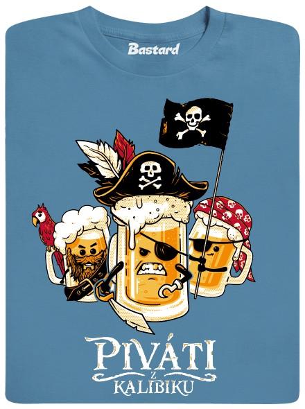 Piráti z Karibiku - modré pánské tričko