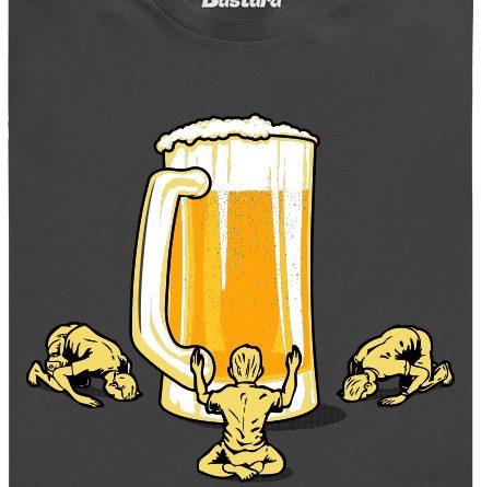 Piviště - modlitební místo pro pivaře - šedé pánské tričko