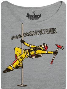 Průkopník pole dance - dámské tričko