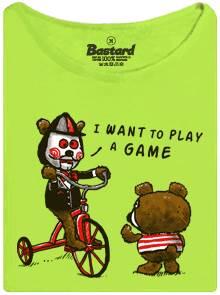 Medvědi u kolína - Saw - I want to play a game - dámské tričko