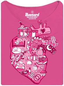 Pro co bije ženské srdce - růžové dámské tričko