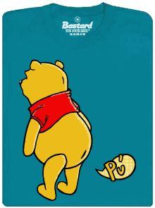 Medvídek Pú a jeho prd - modré tričko