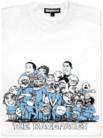 Ragefaces z meme komixů všichni pohromadě