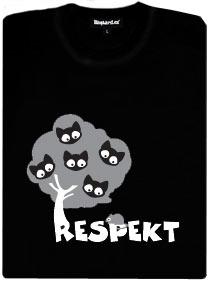 Respekt - myš a kočky na stromě