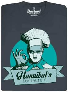 Hannibal's Restaurant - černé pánské tričko