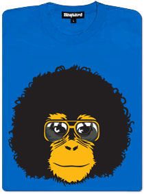 Retro opičák dámské modré