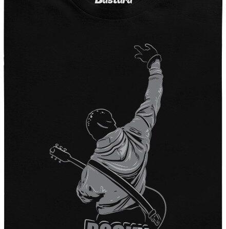 Rocky - černé pánské tričko