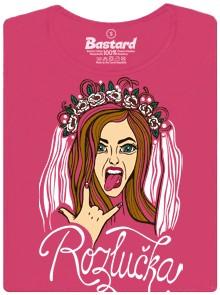 Tričko na rozlučku se svobodou pro holky/dívky/ženy - růžové dámské tričko