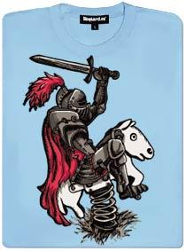 Rytíř na houpacím koni