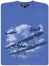 Rytíři nebes v hostorických letadlech