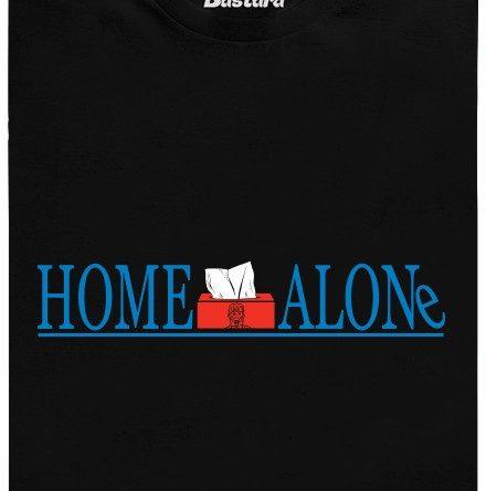 Sám doma, home alone - černé pánské tričko