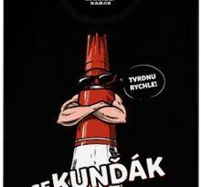 Sekunďák - černé pánské tričko