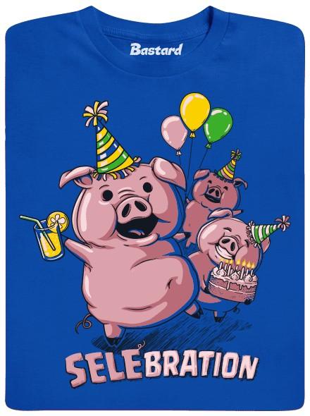Selebration - modré pánské tričko