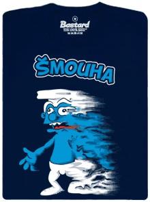 Šmouha - modré pánské tričko