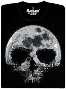 Smrtící úplněk - černé pánské tričko